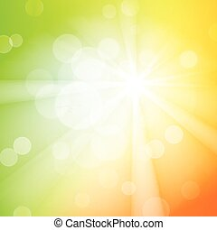 Abstract bokeh sparkles on blurred background - Abstract...