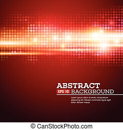 Abstract bokhe lights background. Disco music. Vector illustration. EPS 10
