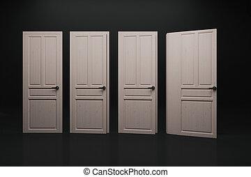 Abstract book door background
