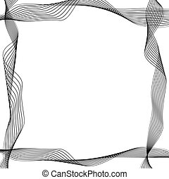 abstract border