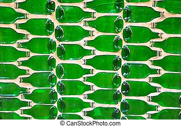 Abstract bottle background