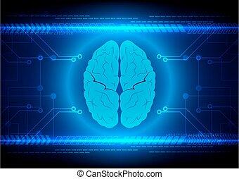 Abstract brain Technology