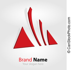 Abstract brand logo/logotype - Originally designed abstract...