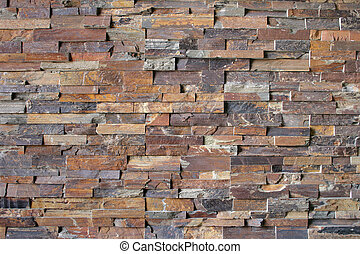 Abstract Brick Pattern