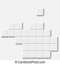 Abstract Brick Vector Background