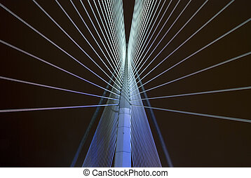 putrajaya - abstract bridge in putrajaya