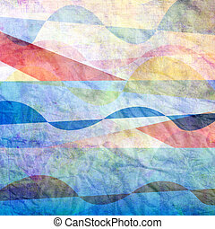 abstract bright background - bright watercolor abstract...
