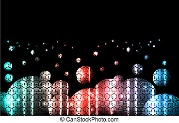 abstract bright background. Vector