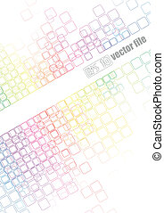 Abstract bright Background Vector