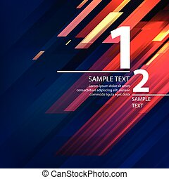 Abstract bright background with diagonal lines. Vector...