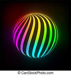 Bright ball