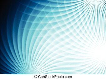 Abstract bright blue background