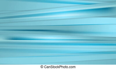 Abstract bright blue smooth stripes video animation
