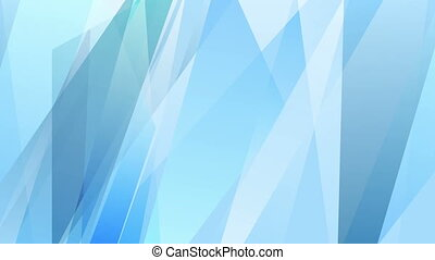 Abstract bright blue stripes video animation