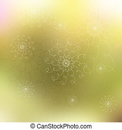 Abstract bright blurred background
