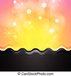 Abstract bright Christmas background
