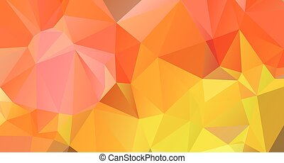 Abstract bright, colorful polygonal background