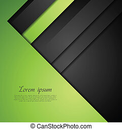 Abstract bright corporate vector design