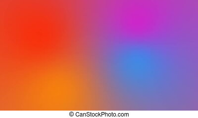Abstract bright multicolored background with visual illusion and wave effects, 3d rendering computer generating
