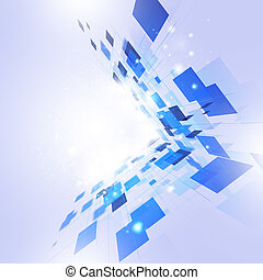 Abstract Bright Technology Background