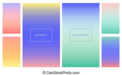 Abstract bright vibrant gradient for ui background