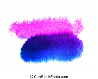 Abstract bright watercolor background