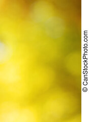 Abstract bright yellow bokeh background
