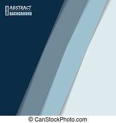 Abstract brochure design with blue stripes