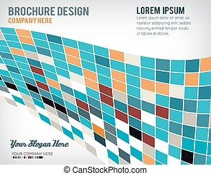 Abstract Brochure or flyer