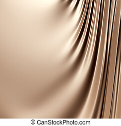 Abstract brown background. Clean, detailed render. Series.