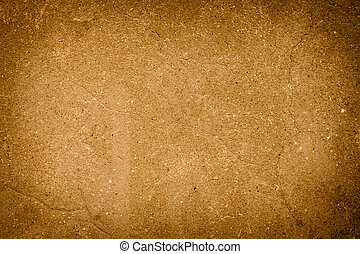 abstract brown background of elegant dark brown vintage grunge texture black on border with light center blank for luxury brochure invitation ad or web template, paper art canvas paint layout
