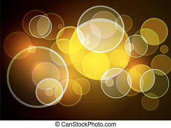 Abstract brown background with boke