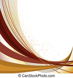 abstract brown lines - abstract background with brown curved...