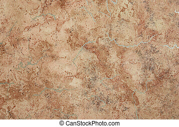 Abstract brown marble textured surface for background.