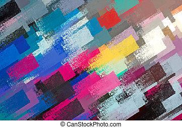 paint strokes - Abstract brush paint strokes illustration. ...
