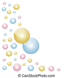 abstract bubble background