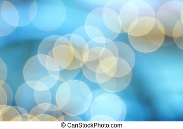 abstract bubble blurred background
