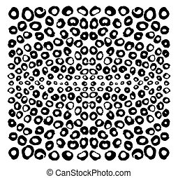 Abstract bubbles composition. Design elements were created...