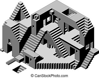 Abstract Building - Abstract Confusion Observatory Building...