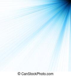 Abstract burst on white, easy edit. EPS 10 vector file ...