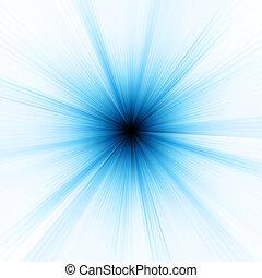 Abstract burst on white, easy edit. EPS 8 vector file ...