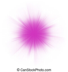 Abstract burst on white, easy edit. EPS 8 vector file ...