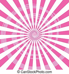 Abstract Burst Ray Background Pink