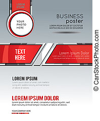 Abstract Business Background. Layer template. Brochure or...