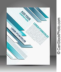 Abstract Business Background. Layer template, Brochure or flyer