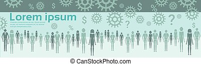 Abstract Business Brainstorming Concept New Idea Development Infographic Banner