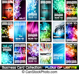 Business Card Collection: - Abstract Business Card...