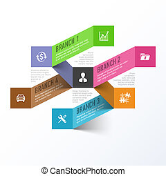 Abstract business design element