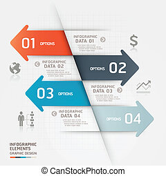 Abstract business infographics.