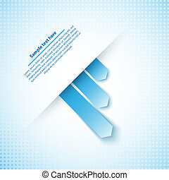 Abstract business infographics template. Vector illustration for your business presentation
